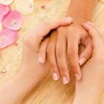 Oriental hand massage