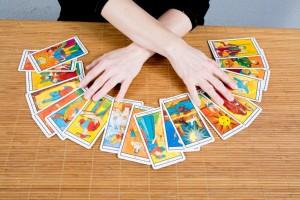 Hands of an fortuneteller
