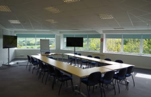 conference room at Caddsdown Business Support Centre